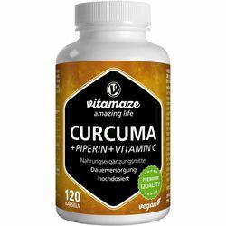 CURCUMA + PIPERIN + Vitamin C vegan