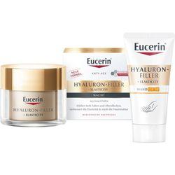 Eucerin® Hyaluron-Filler + Elasticity Nachtpflege + 5 ml Eucerin® Elasticity + Filler Gesichtsöl GRATIS