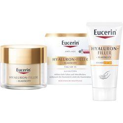Eucerin® Hyaluron-Filler + Elasticity Tagespflege + 5 ml Eucerin® Elasticity + Filler Gesichtsöl GRATIS
