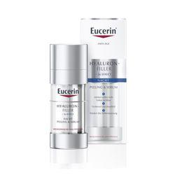 Eucerin® Hyaluron-Filler Nacht Peeling & Serum + 100ml Eucerin® DermatoCLEAN 3in1 Reinigungsfluid GRATIS