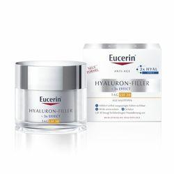 Eucerin® Hyaluron-Filler Tagespflege mit LSF 30 + 100ml Eucerin® DermatoCLEAN 3in1 Reinigungsfluid GRATIS