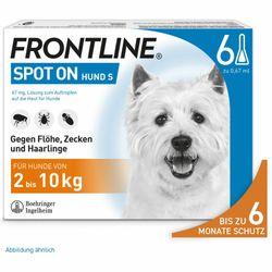 FRONTLINE® Hund S 2 - 10 kg