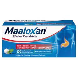 Maaloxan® 25 mVal Sodbrennen Kautabletten