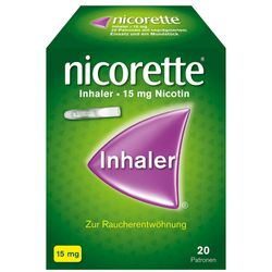 nicorette® Inhaler 15 mg