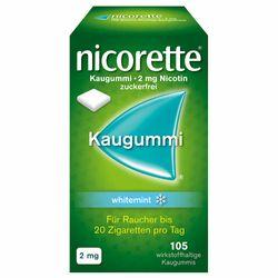 Nicorette® Kaugummi 2 mg 105 St. Whitemint