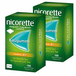 nicorette® Kaugummi freshfruit mit 2 mg