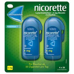 nicorette® Lutschtabletten4mgfreshmintzur Raucherentwöhnung