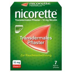 nicorette® Pflaster 10 mg zur Raucherentwöhnung