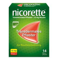 nicorette® Pflaster 15 mg zur Raucherentwöhnung