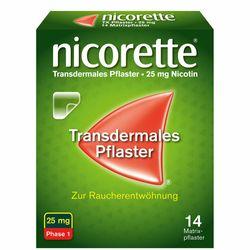 nicorette® TX Pflaster mit 25 mg Nikotin zur Raucherentwöhnung