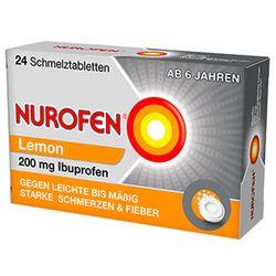 Nurofen® 200 mg Schmelztabletten Lemon