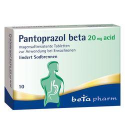 PANTOPRAZOL beta 20 mg acid