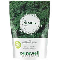 purewell Chlorella Pulver - Bio Superfood