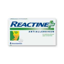 REACTINE duo® Retardtabletten
