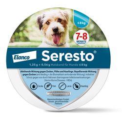 Seresto® Halsband für kleine Hunde < 8 kg