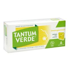 TANTUM VERDE® mit Zitronengeschmack 3 mg Lutschtabletten