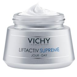 VICHY Liftactiv Supreme Tagespflege für trockene Haut + VICHY Liftactiv Specialist Glyco-C Peeling Ampulle GRATIS