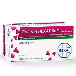 Cetirizin HEXAL® Saft bei Allergien 1 mg/ml