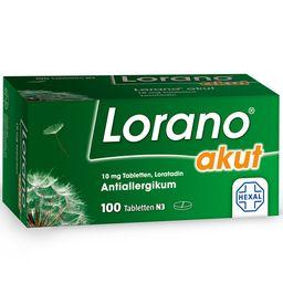 Lorano® akut 10 mg