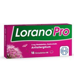 Lorano® Pro -Die Power-Allergietablette