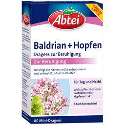 Abtei Baldrian + Hopfen Dragees zur Beruhigung