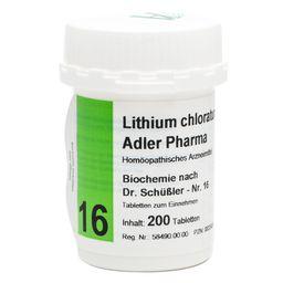Adler Pharma Lithium chloratum D12 Biochemie nach Dr. Schüßler Nr. 16