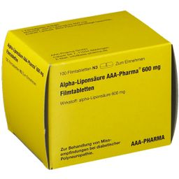 Alpha-Liponsäure AAA Pharma® 600 mg