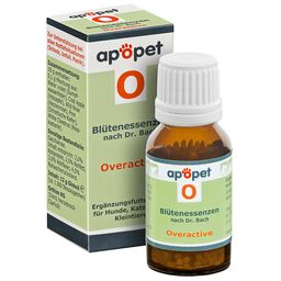 apopet® Blütenessenz nach Dr. Bach  O – Overactive