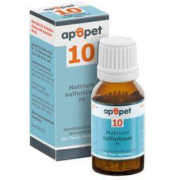 apopet® Schüßler Salz Nr. 10 Natrium sulfuricum D6 ad us. vet.