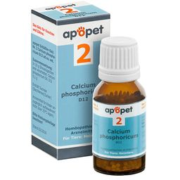 apopet® Schüßler Salz Nr. 2 Calcium phosphoricum D12 ad us. vet.