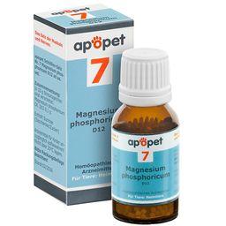 apopet® Schüßler Salz Nr. 7 Magnesium phosphoricum D12 ad us. vet.