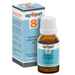 apopet® Schüßler Salz Nr. 8 Natrium chloratum D6 ad us. vet.