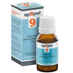 apopet® Schüßler Salz Nr. 9 Natrium phosphoricum D6 ad us. vet.