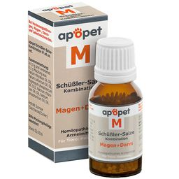 apopet® Schüßler-Salze-Kombination M ad us. vet. – Magen-Darm