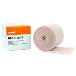 Autosana Kompressionsbinde aus Schaumstoff 10 cm x 2,5 m x 0,4 cm hautfarbend