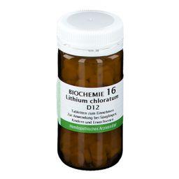 BIOCHEMIE 16LITH CHLOR D12