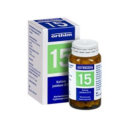Biochemie orthim® Nr. 15 Kalium jodatum D12