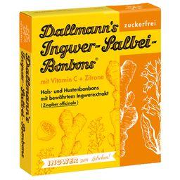 Dallmanns Ingwer-Salbei-Bonbons zuckerfrei