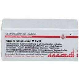 DHU Zincum Metallicum LM XVIII