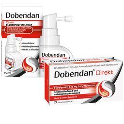 Dobendan® Tag & Nacht Set gegen Halsschmerzen