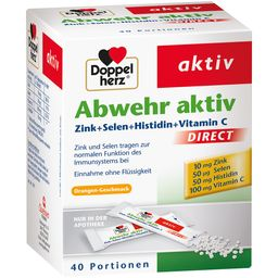 Doppelherz Abwehr aktiv DIRECT mit Zink + Selen + Histidin
