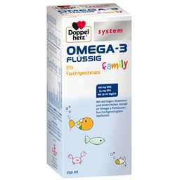 Doppelherz® system OMEGA-3 flüssig family