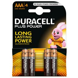 DURACELL® Plus Power AAA