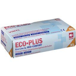 Eco-Plus Vinyl Handschuhe Gr. XL unsteril puderfrei weiß