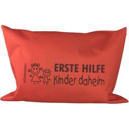 Erste-Hilfe-Set Kinder daheim orange