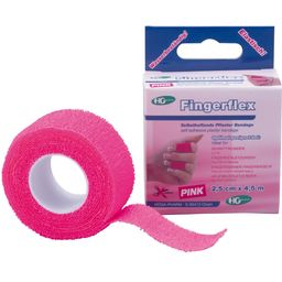 Fingerflex, selbsthaftende Pflaster Bandage 2,5 cm x 4,5 m Pink