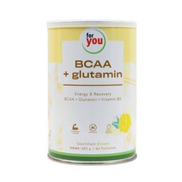 for you BCAA + Glutamin Energy & Recovery - Zitrone