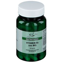 green line Vitamin B1 100 mg