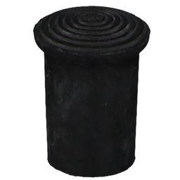 Krückenkapsel Gr. 2/0 14 mm schwarz