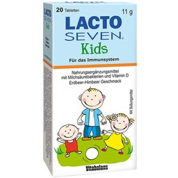 LACTO SEVEN® Kids Erdbeer-Himbeer Geschmack